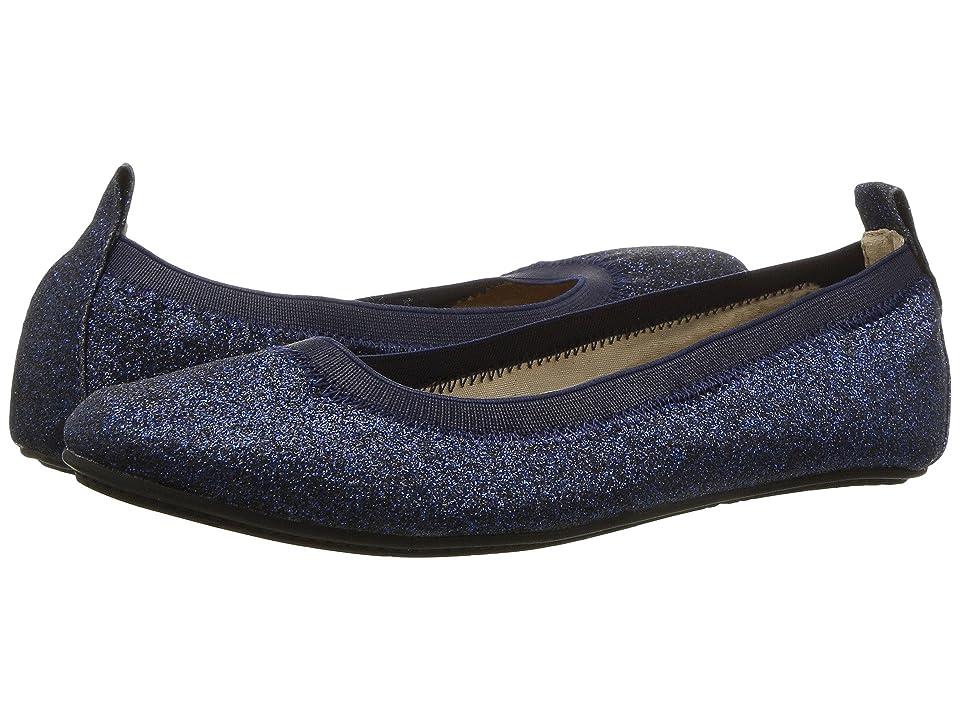 Yosi Samra Kids Miss Samara Glitter Ballet Flat (Toddler/Little Kid/Big Kid) (Sapphire Glitter) Girls Shoes