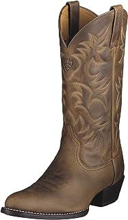 حذاء راعي البقر الغربي Heritage R Toe للرجال من Ariat