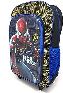 Carácter de los niños equipaje de lujo con ruedas mochila maleta cabina bolsa escuela