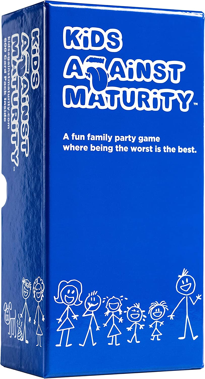 Amazon.com: Kids Against Maturity: Card Game for Kids and Families, Super Fun Hilarious for Family Party Game Night : Toys & Games