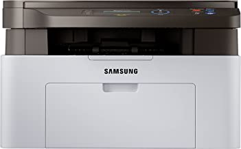Samsung Xpress M2070W Wireless Monochrome Laser Printer with Scan/Copy, Simple NFC + WiFi Connectivity and Built-in Ethernet (SS298H)