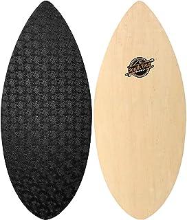 South Bay Board Co. - Performance Wooden Skim Board-41 Skimboard (The Skipper) with Textured Wax-Free Foam Top Deck for Ki...