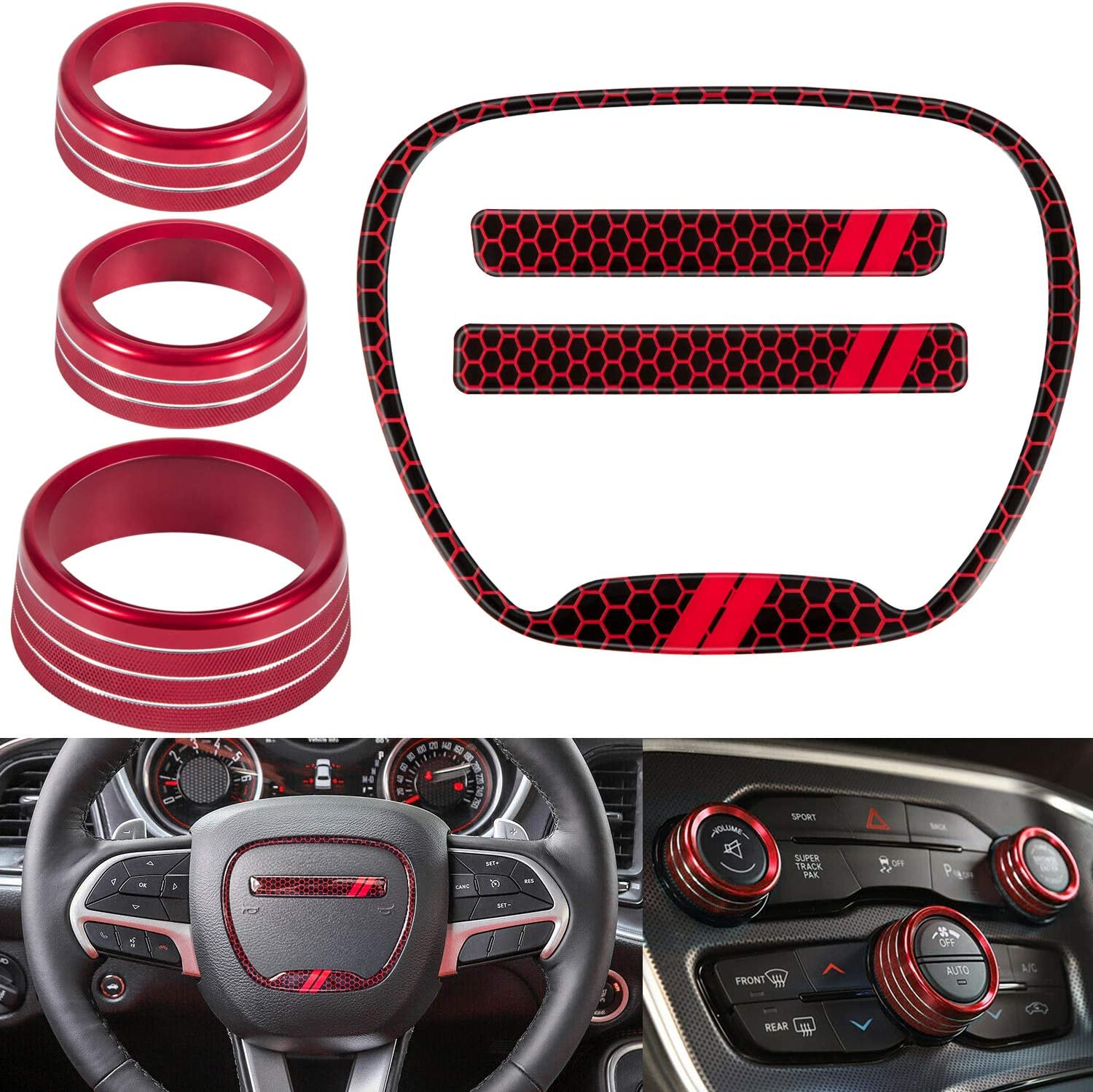 For Dodge Seattle Mall Challenger Charger Accessories Bombing free shipping Deco Interior 2015-2021