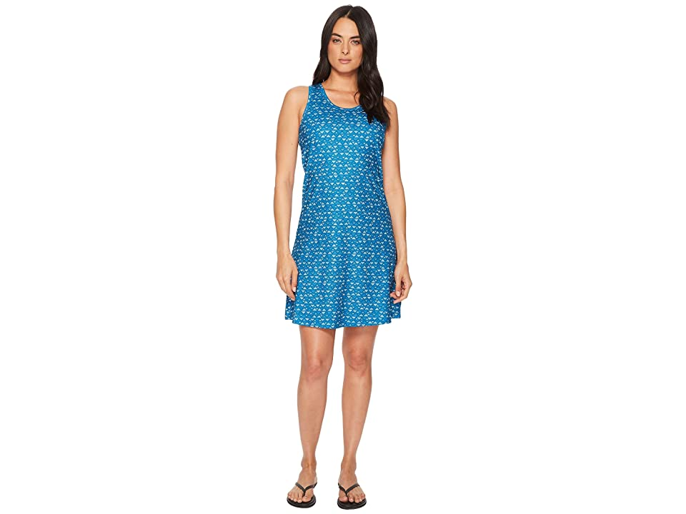 Columbia Saturday Trailtm II Knit Dress (Jewel Mountain Triangles Print) Women
