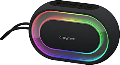 Creative Halo Portable Bluetooth Speaker with Programmable Lightshow