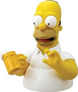 Simpsons The Homer with Mug Bust Bank Action Figure