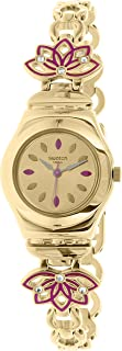 Swatch Women's Irony YSG140G Gold Stainless-Steel Swiss Quartz Watch
