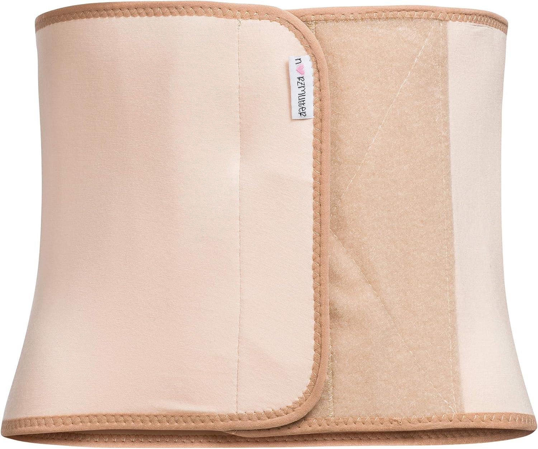 r/ückbildungsunterst/ützend Herzmutter Bauchbinde-Bauchband-Bauchg/ürtel nach Geburt-Schwangerschaft-Kaiserschnitt-OP stufenlos Verstellbarer Klettverschluss 3100