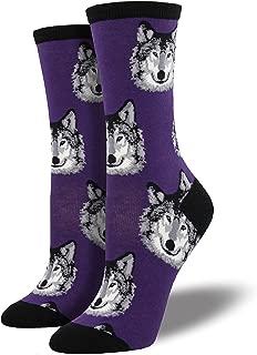 womens wolf socks