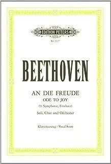 Beethoven: Symphony No. 9 in D Minor, Op. 125 (Vocal Score)