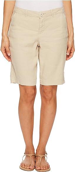 Petite Bermuda Linen Shorts