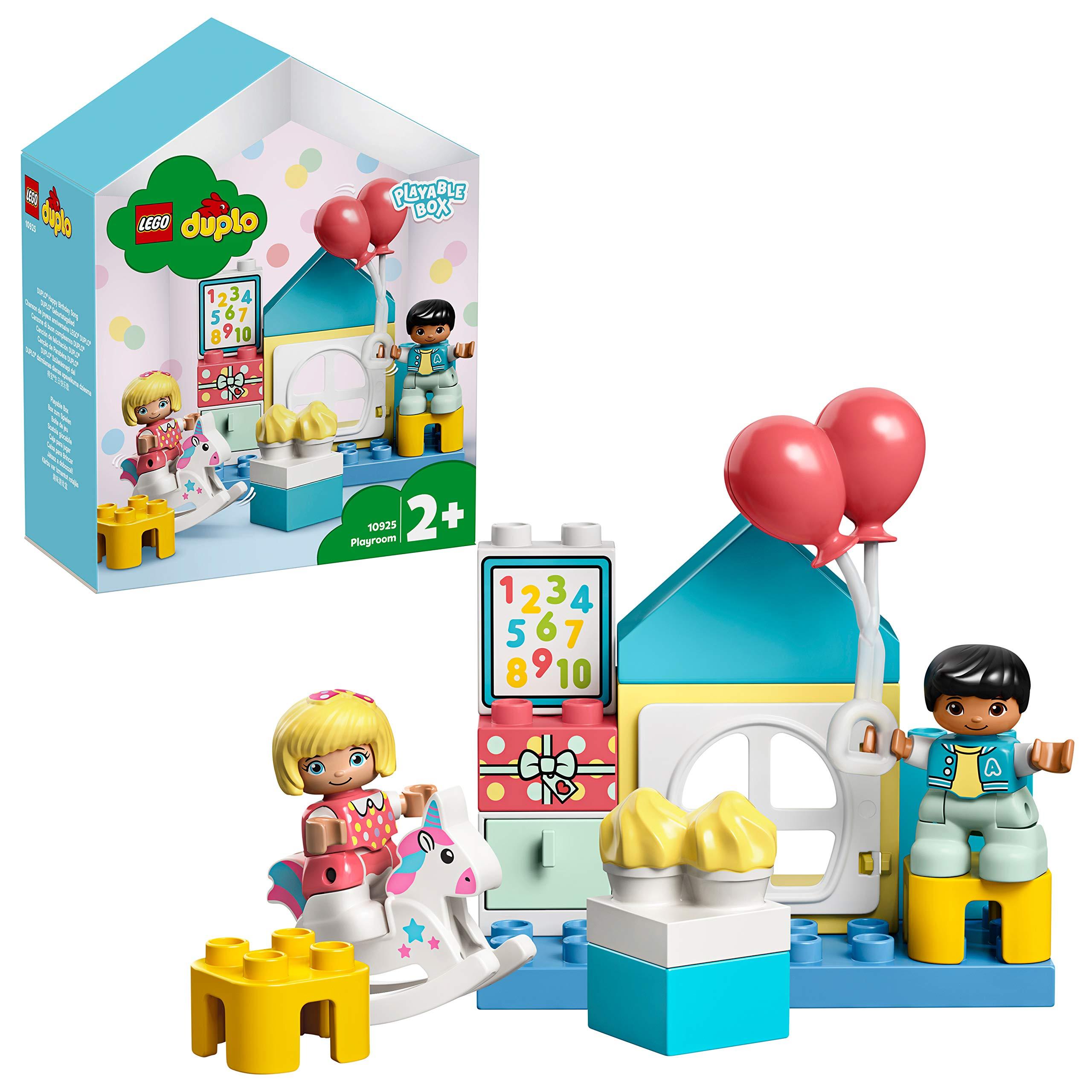 LEGO DUPLO Town - Cuarto de Juegos, Caja con Ladrillos de LEGO para Construir y Desarrollar la Creatividad, Incluye Muñecos para Recrear Escenas Cotidianas, a Partir de 2 Años (10925): Amazon.es: Juguetes