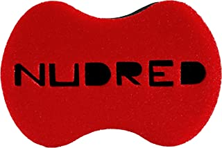 Curl Sponge - NuDred The Original Standard Size RED Hair Sponge for Coils, Curls and Twists - Natural Hair Afro/Dread Sponge for Men and Women - Large Holes