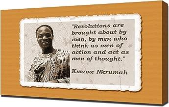 Kwame Nkrumah Quotes 2 - Canvas Art Print