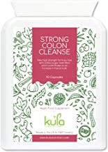 Kula Nutrition Colon Cleanse with Aloe Vera Sugar Beet Fibre – 90 High Strength Capsules – Herbal Body Detox Formula Bowel Function Support Constipation Relief – Made in UK – Non-GMO Gluten-Free Estimated Price : £ 17,97