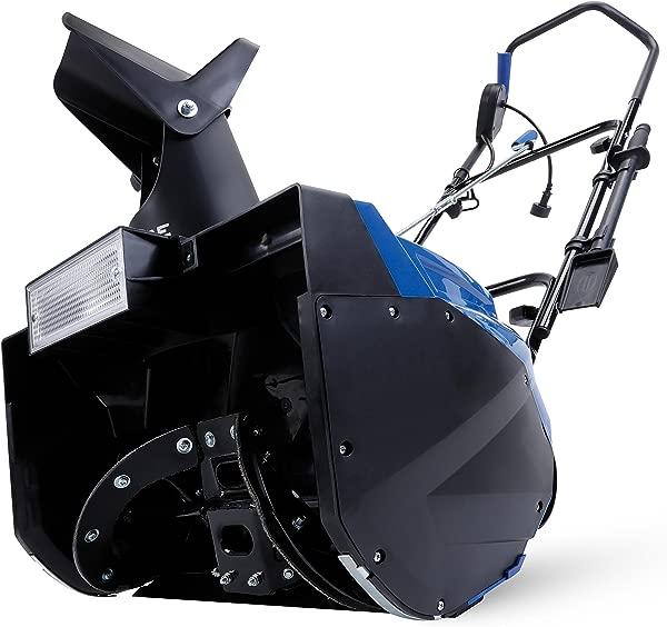 Snow Joe SJ623E Electric Single Stage Snow Thrower 18 Inch 15 Amp Motor Headlights