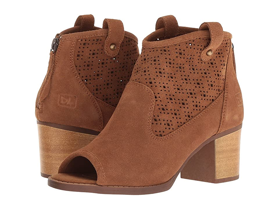 Dirty Laundry Trixie Peep Toe Bootie (Exclusive Camel) Women