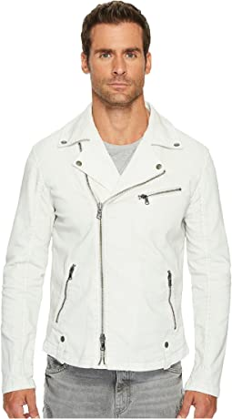 John Varvatos Star U.S.A. - Coated Moto Jacket