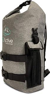 Mochila Impermeable Dry Bag - Bolsa Estanca 25L para Deportes Acuáticos, Escuela, Aire Libre, Bolsa de Gimnasio, Camping, Mochilero, Senderismo, Cano, Kayak, Surf | Diseñada en California