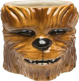 Zak Designs STAB-8515-B Star Wars Coffee Mugs, Sculpted, Ep4 Chewbacca