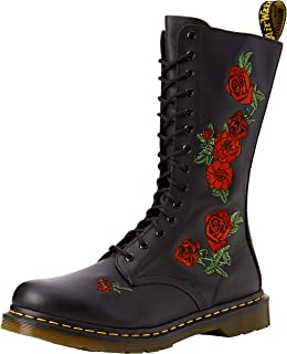 Dr. Martens Women's 14-Eye Vonda Casual Boot, Black