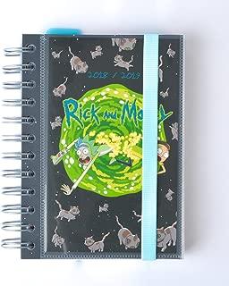 Grupo Erik Editores Rick y Morty- Agenda escolar 2018-2019 día página multilingüe, 11.4 x 16 cm