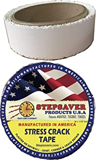 Stepsaver Products Self-Adhesive Stress Crack Tape (Stress Crack Tape Smooth 30'x 1-1/4