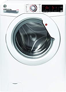 Hoover Machine à laver H-Wash 300 H3W 413TXME/1-S - 13 kg - 1400 tr/min - Fonctionnement intelligent avec technologie NFC...