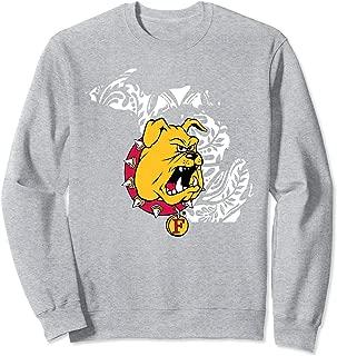 Ferris State Bulldogs Pattern State Sweatshirt - Apparel