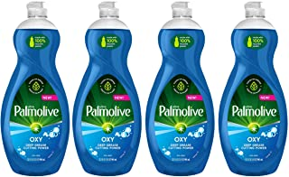 Palmolive Ultra Dish Soap Oxy Power Degreaser, 32.5 Fl Oz (Pack of 4)