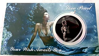 Love Wish Pearl Kit Chain Necklace Kit Pendant Cultured Pearl in Kit Set With Stainless Steel Chain 16