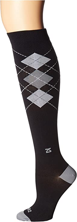 Fresh Legs Classic Argyle Compression Socks