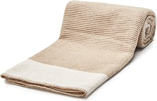 Arus Cotton Blend Soft Throw Blanket for Bed, Sofa, Couch City Shadow 50x67