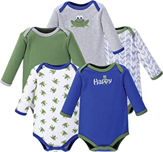 Unisex Baby Long-Sleeve Bodysuits