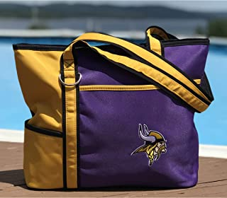 NFL Tote Bag with Embroidered Logo by Charm14