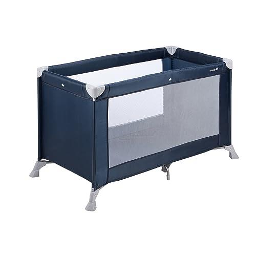 Safety 1st Soft Dreams Lit parapluie bébé pratique et compact, Bleu
