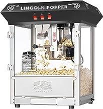 Great Northern Popcorn Black Bar Style Lincoln 8 Ounce Antique Popcorn Machine (Bar Style) – Great Northern Popcorn Company