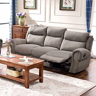 Harper & Bright Designs Sectional Sofa Set Including Chair, Loveseat and 3-Seat Sofa Recliner (3-Seat Recliner)
