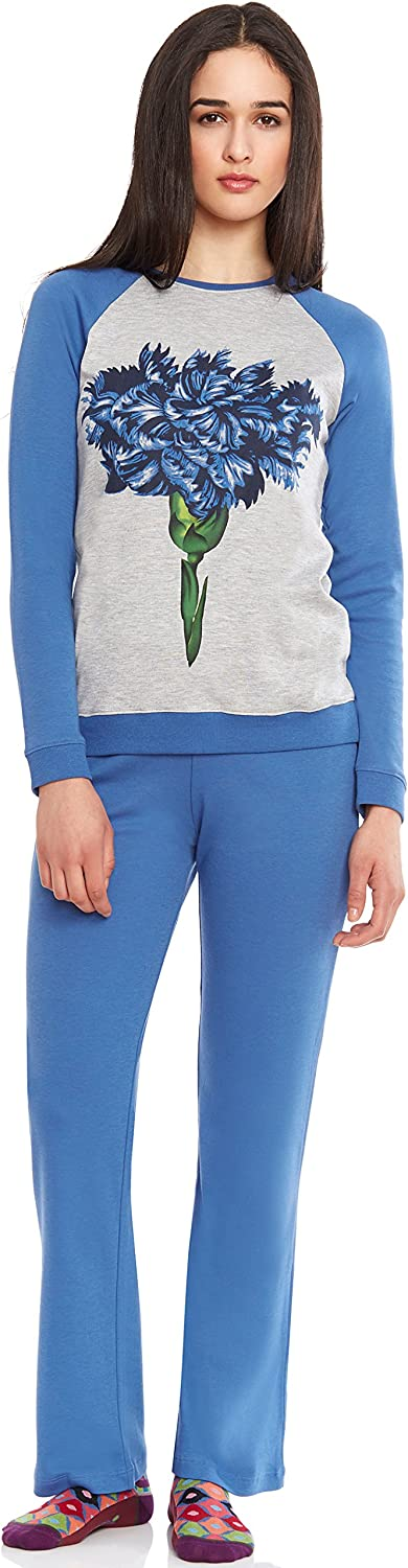 2-Go 2 PC Women's Regular discount Pajama Set - Long Cotton Soft Sleeve Max 69% OFF and Pant