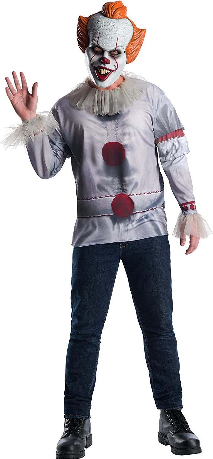 Rubie's Men's Pennywise Adult Costume Top Adult Costume