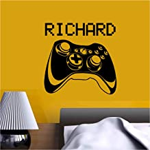 Video Game Gaming Personalised Gamer Tag Vinyl Sticker Decal - Room Decor Wall Art Mural Home Decoration Bedroom (Designs 13)