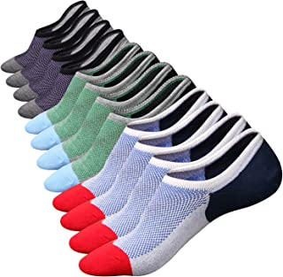 M&Z Low Cut No Show Socks Mens Casual Invisible Cotton...