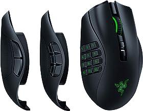 Razer Naga Pro Wireless Gaming Mouse: Interchangeable Side Plate w/ 2, 6, 12 Button Configurations - Focus+ 20K DPI Optica...