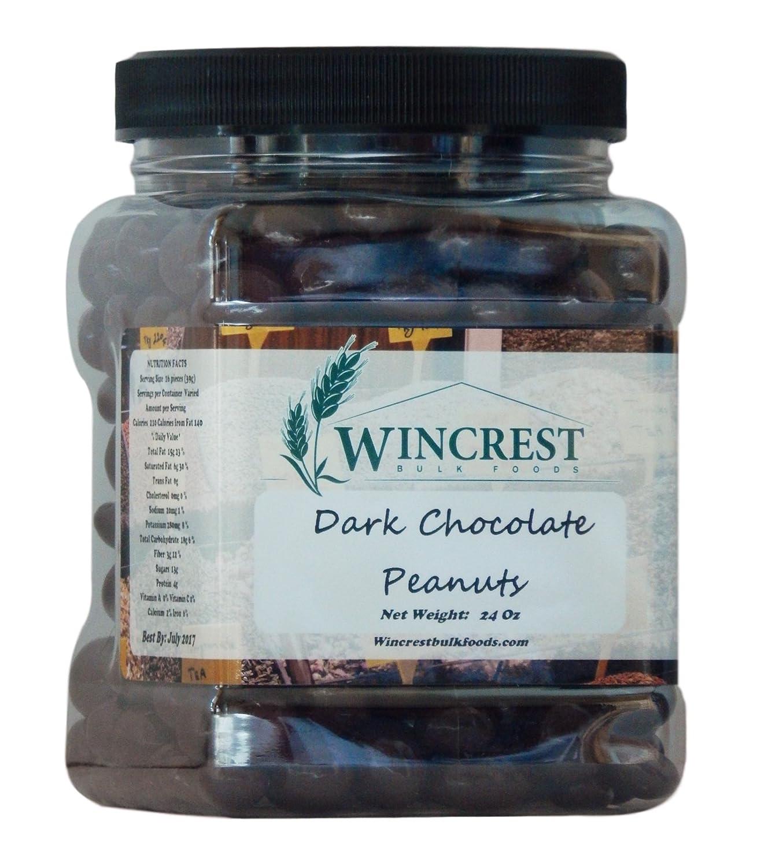 Dark cheap Genuine Free Shipping Chocolate Peanuts - Tub 1.5 Lb