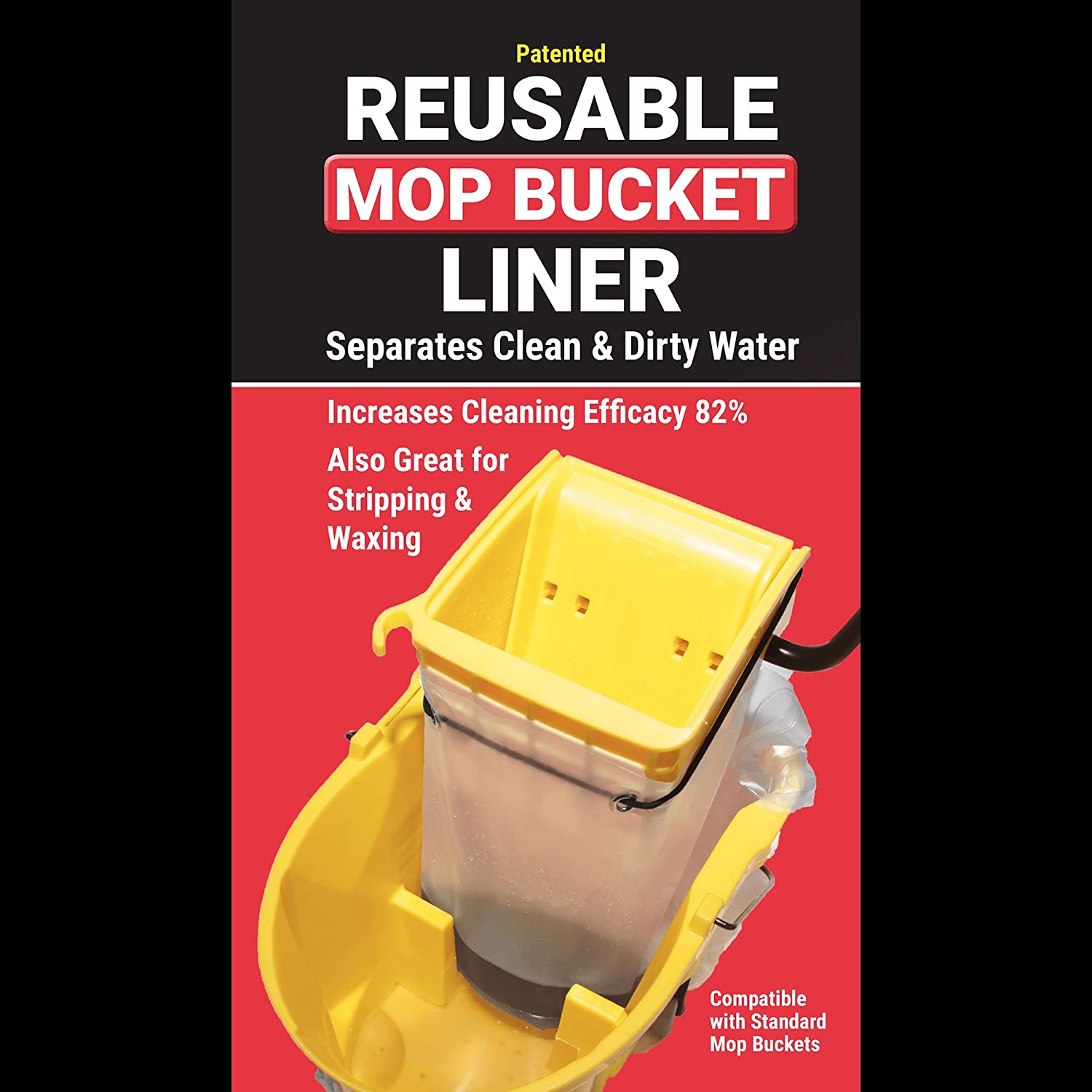 Mop Bucket Liner - Separates Clean Dirty Ranking TOP16 and Sales of SALE items from new works 1 Reusable Water