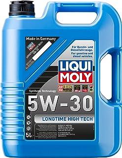 Liqui Moly 1137 Longtime High Tech 5W-30 - Aceite antifricción con tecnología HC para Motores de automóviles de 4 Tiempos (5 L)