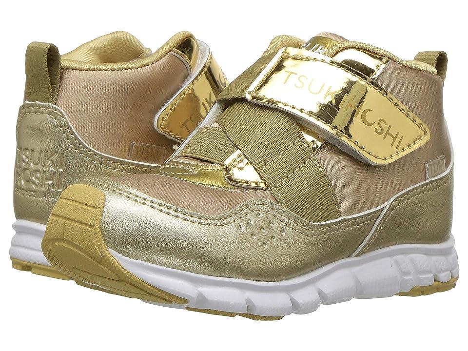 Tsukihoshi Kids Tokyo (Toddler/Little Kid) (Gold/Honey) Girls Shoes