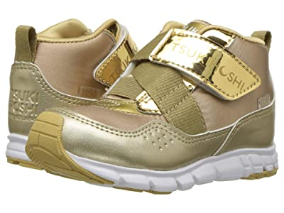 Tsukihoshi Kids Tokyo (Toddler/Little Kid) (Gold/Honey) Girls Shoes