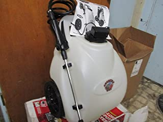 Garden Sprayer Battery Operated Electric Pump Sprayer 12 Volt Rechargeable Battery Home Lawn Fertilizer Weed Killer