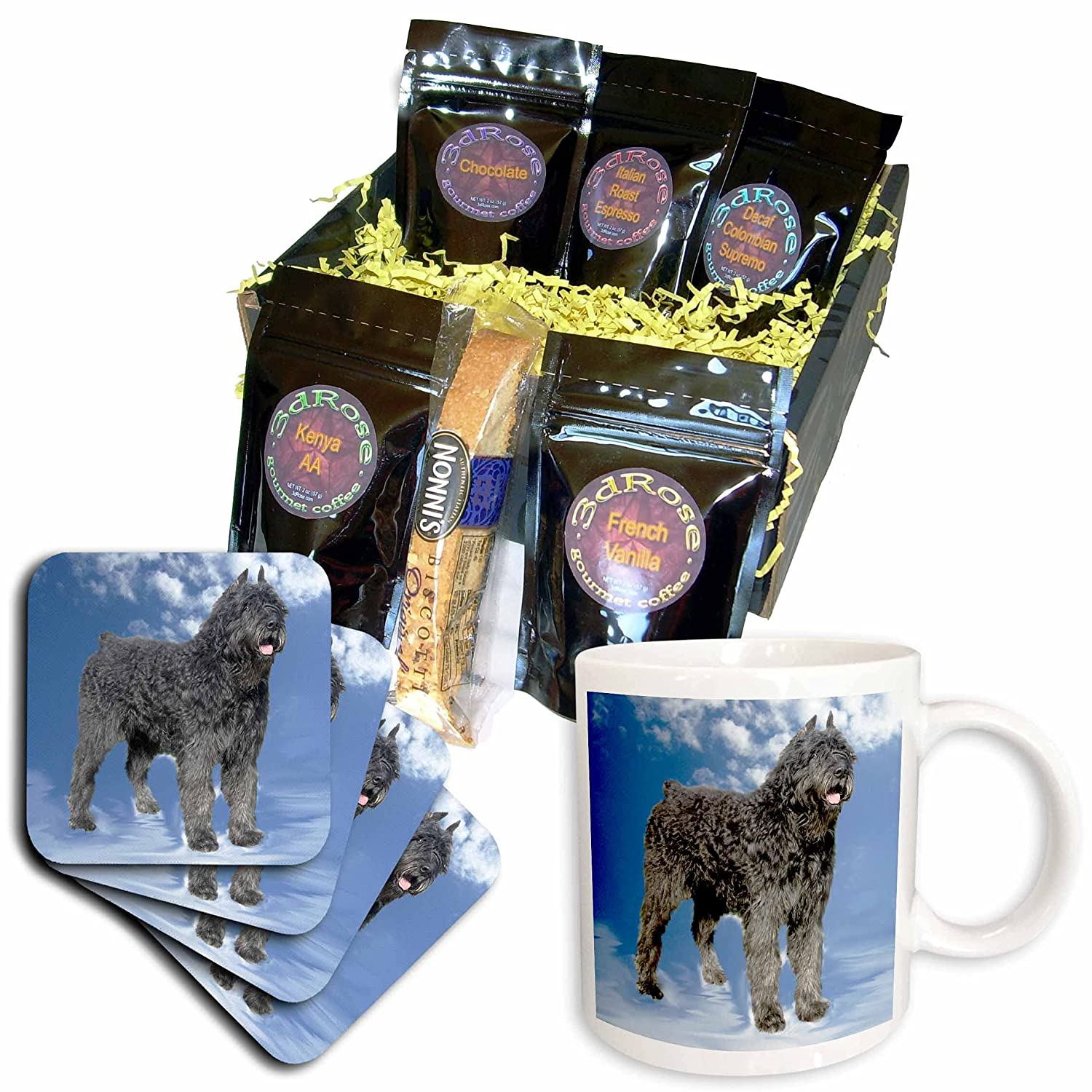 3dRose Dogs Bouvier - A surprise price is realized Des 5 popular Gift Coffee Baskets Flandres